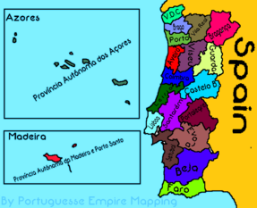 As Províncias de Portugal e as Províncias Autónomas de Portugal