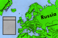 Map of europe by polish mapper