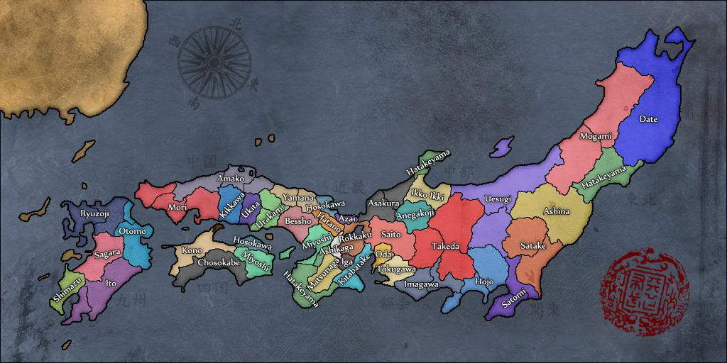 Sengoku Jidai ( Map Game ) | TheFutureOfEuropes Wiki | FANDOM ... on