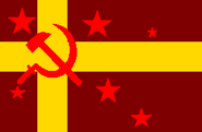 .Flag of the Democratic Republic of Turkestan