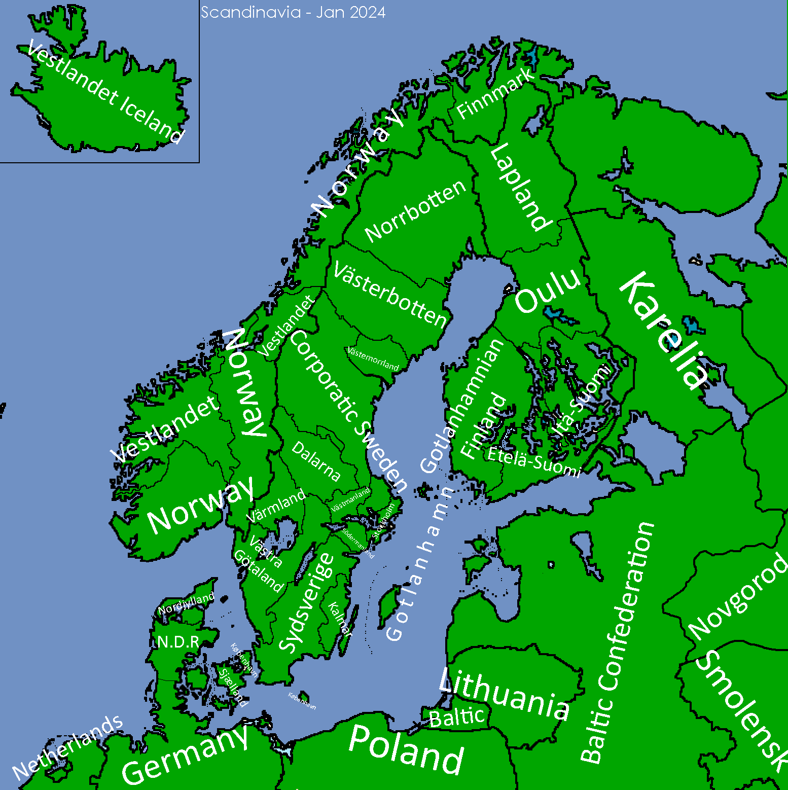 Divided Scandinavia (Map Game) (Archive 2 ... on europe map, italy map, greece map, britain map, scotland map, austria map, france map, united kingdom map, danube river map, africa map, netherlands map, mediterranean map, portugal map, germany map, tourist map, sweden map, iberian peninsula map, iceland map, switzerland map, scandinavian peninsula map, rhine river map, ural mountains map, england map, america map, ireland map, turkey map, denmark map, strait of gibraltar map, belgium map, norway map, finland map, spain map, uk map, viking map, nordic countries map, the netherlands map,