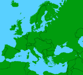 Europe 1914 without it's names