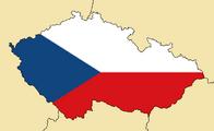 Blank Map of Czech Republic