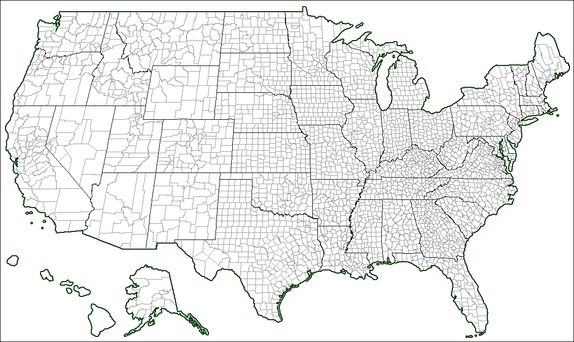 Image Usa Counties Blank Blankpng TheFutureOfEuropes Wiki - Blank Map Of Us High Quality