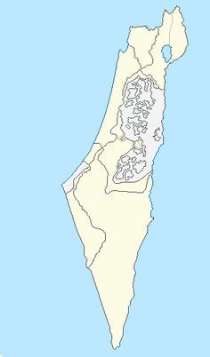 Full Detail Map Israel