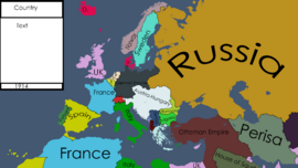 Europe 1914 By TheCroatianMapper