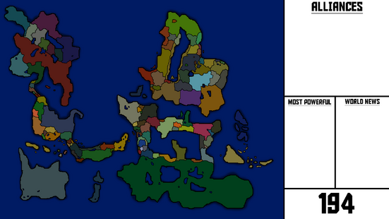 The new world (With countrys)