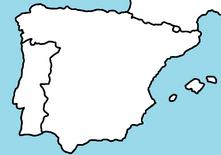 Iberia map