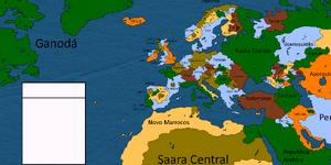 Europa e Africa do norte Alternativa