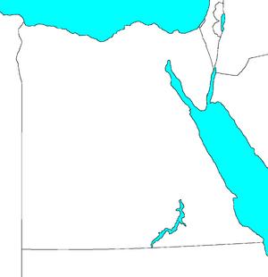 BlankMapOfEgypt