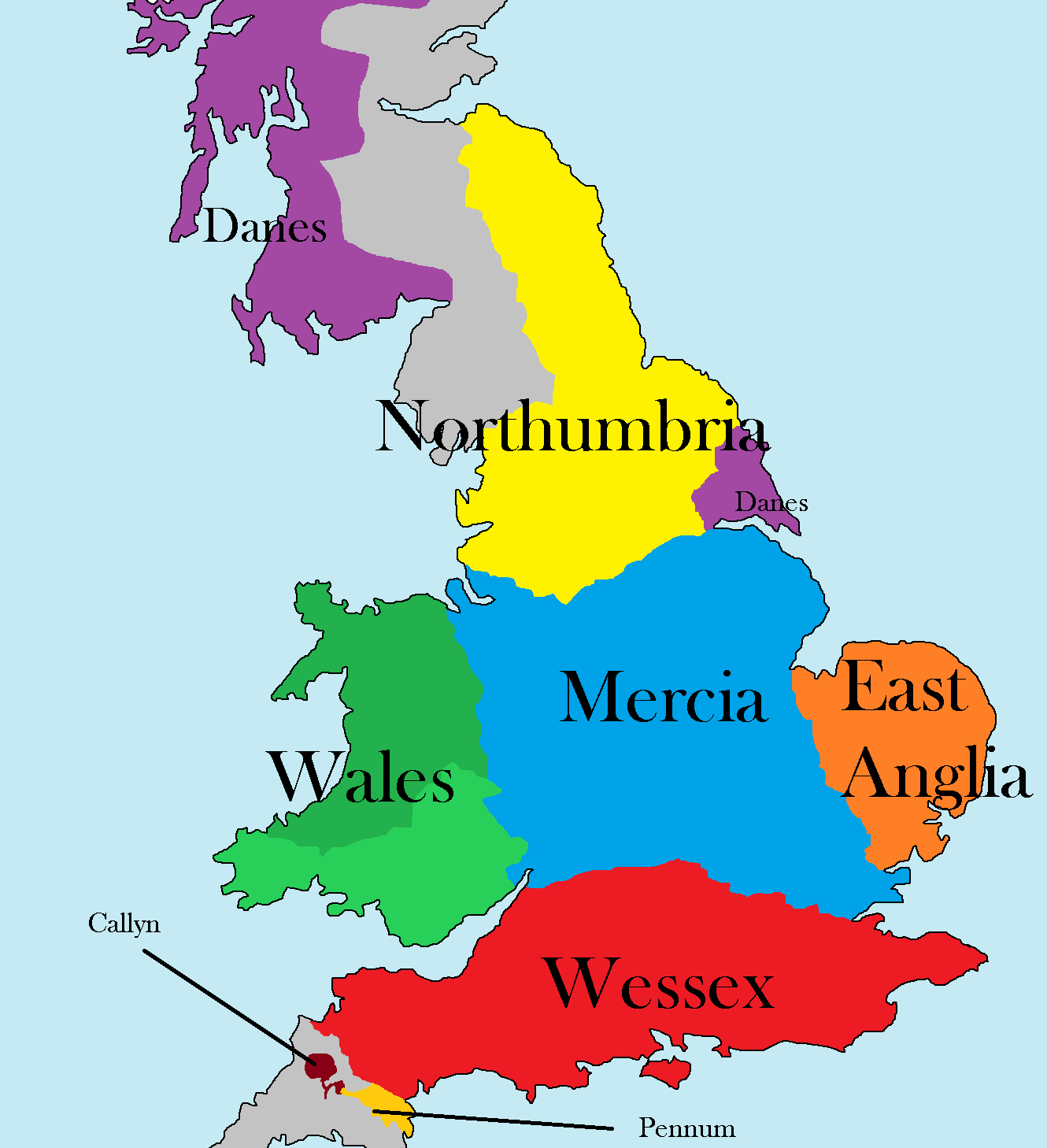 wessex map 800
