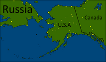 Bering Strait by Mapper Paraibaball