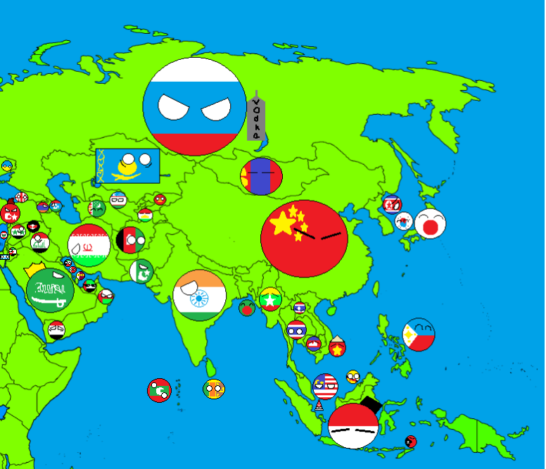 map of asia countryballs updatedpng