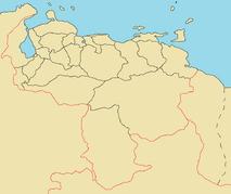 Province Map of Venezuela