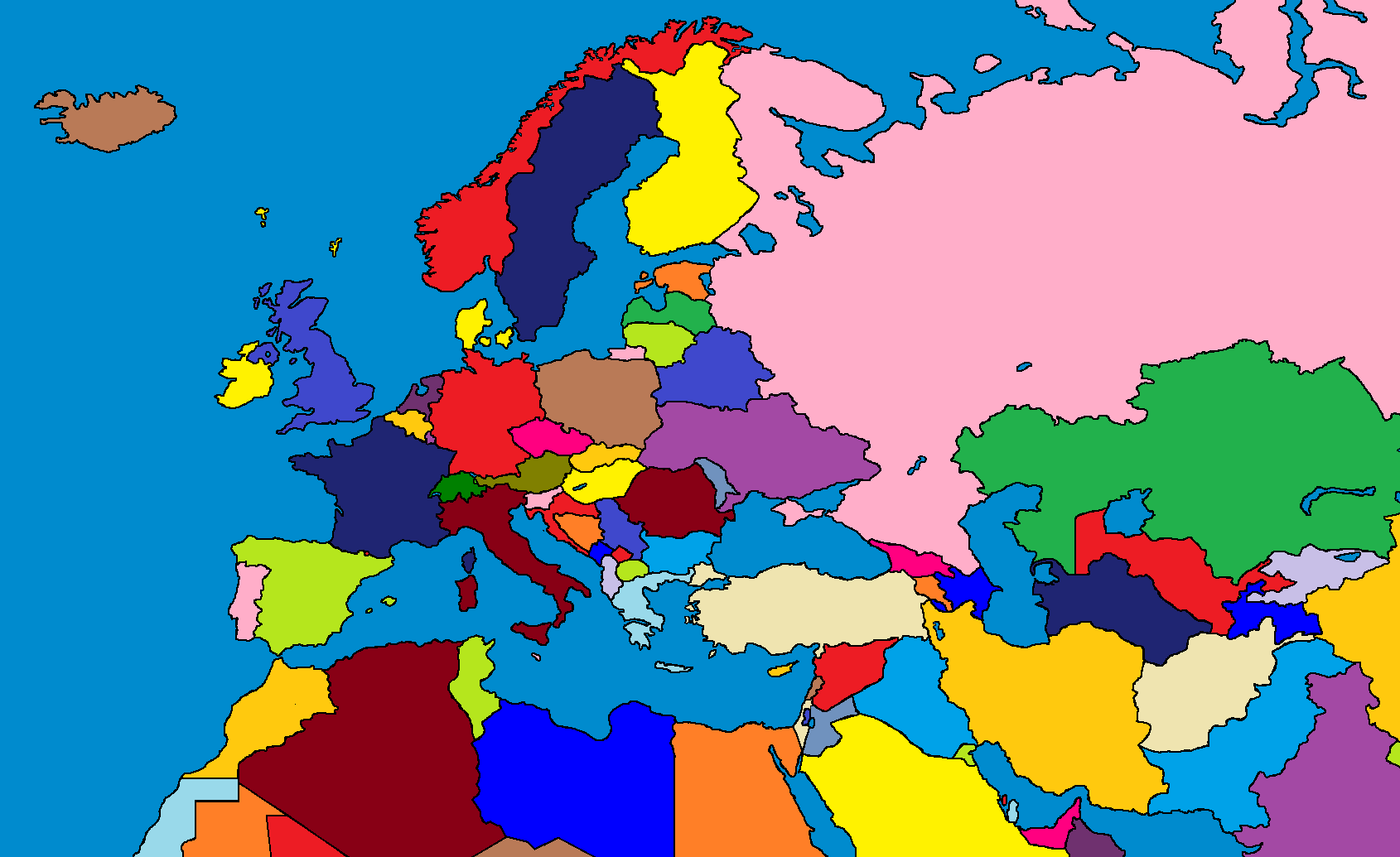 Europe the wars of the nations map game thefutureofeuropes wiki map of europa gumiabroncs Image collections