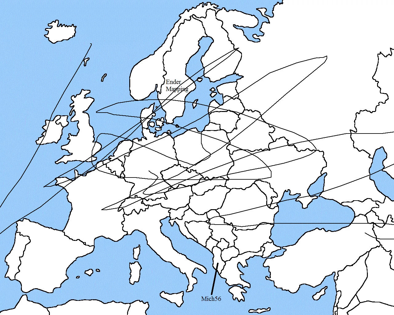 Image - Map of Europe 1939 by Delirium.png | TheFutureOfEuropes Wiki ...