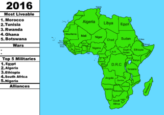 Africa with infobox