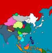 Mapa azjatycka 1936