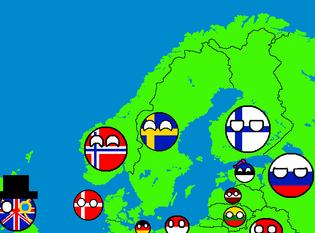 ScandinaviaMapWithCountryballs