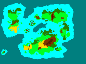Secktorlika terrain map