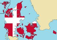 Blank Map of Denmark