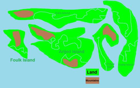 Map of Grakulia