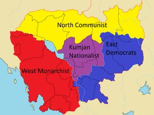 Civil war of cambodia