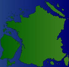 France color gradient
