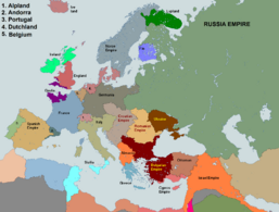 Alternative Historical map - Europe