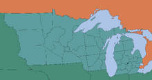 Provinces of the Free State of Michigan