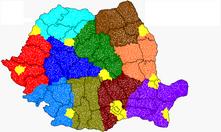 Romania Administrative Divisions Proposal 2012