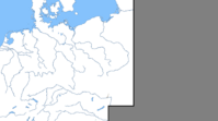 German central Europe with rivers
