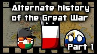 Alternate History of the Great War - Part 1 - Establishing pacts