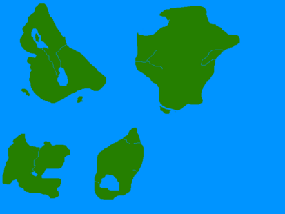 Aranea Map (Fantasy)