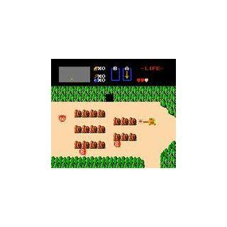 A shot of Zelda gameplay near the beginning.