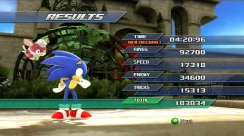 Sonic Unleashed Rooftop Run (Act 1) - S-Rank