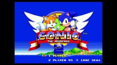 Sonic 2 Title Screen