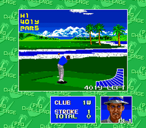 Chi Chi's Pro Challenge Golf Gameplay