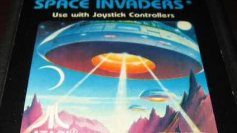 Classic Game Room - SPACE INVADERS for Atari 2600 review