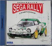 Sega Rally 2 Box Art