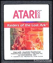 Raiders of the Lost Ark Game Cartridge