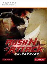 Rush'n Attack Ex Patriot Box Art