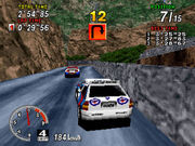 Sega Rally Championship 1995 Gameplay