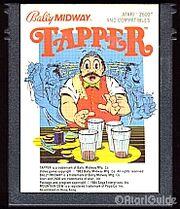 Tapper Atari 2600 Cart