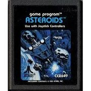 Asteroids Atari 2600 Cart
