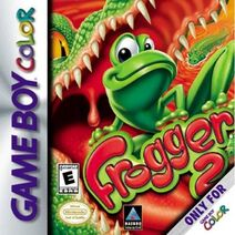 Frogger 2 GBC Box Art