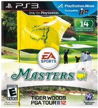 Tiger Woods PGA Tour 12 - The Masters Box Art