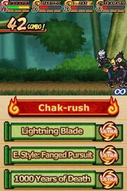 Naruto Shippuden - Shinobi Rumble Gameplay