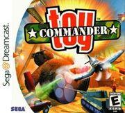 Toy Commander Dreamcast Box Art