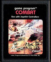 Combat Atari Cart